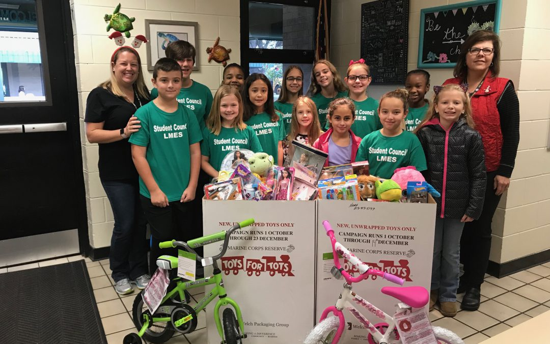 LMES Student Council ~ Toys for Tots!
